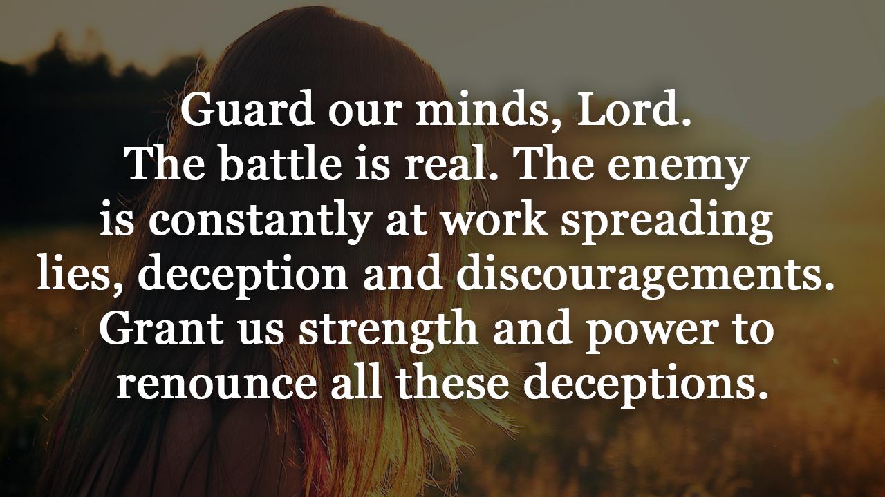 Prayer against Worry